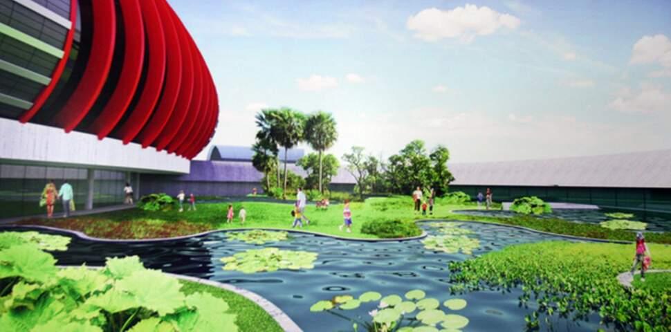 Aquário será construido no Parque das Nações Indígenas.