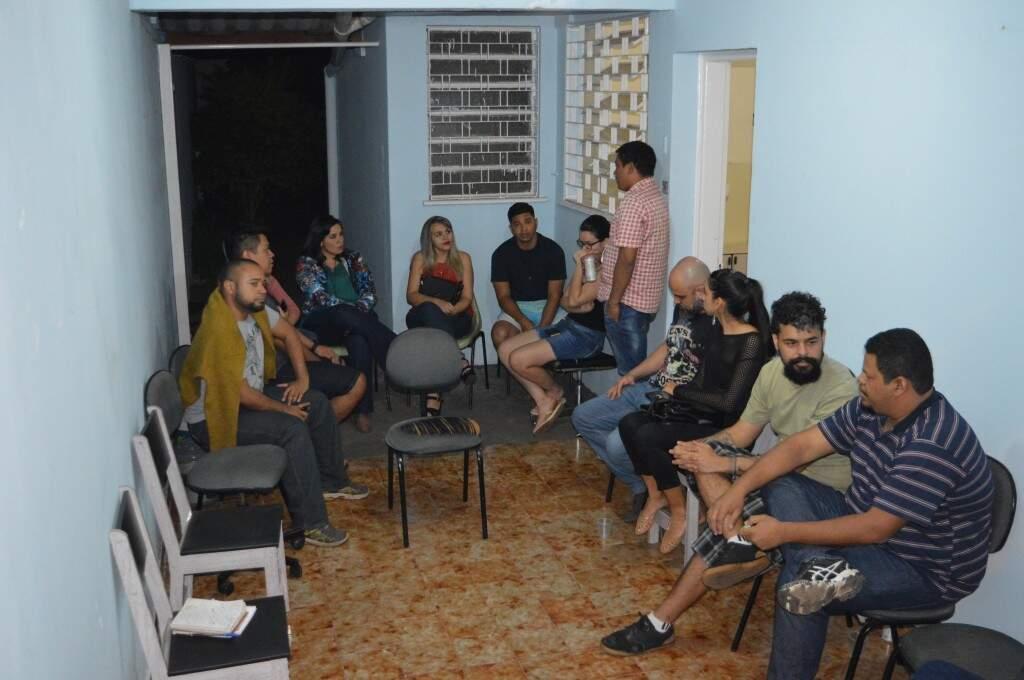A festa dos dez anos de ocupação da reitoria da UFMS não superou expectativas. (Foto: Willian  Leite)