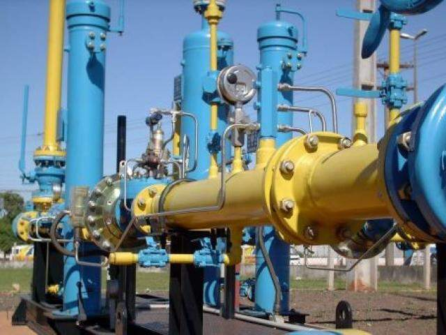 Gás natural é importado por MS há 17 anos. (Foto: MSGÁS)