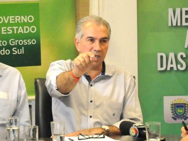 Governador aponta que, diariamente, greve causou prejuízo de R$ 100 milhões à economia do Estado. (Foto: Paulo Francis)