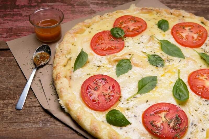 pizza margherita - Foto Divulgação