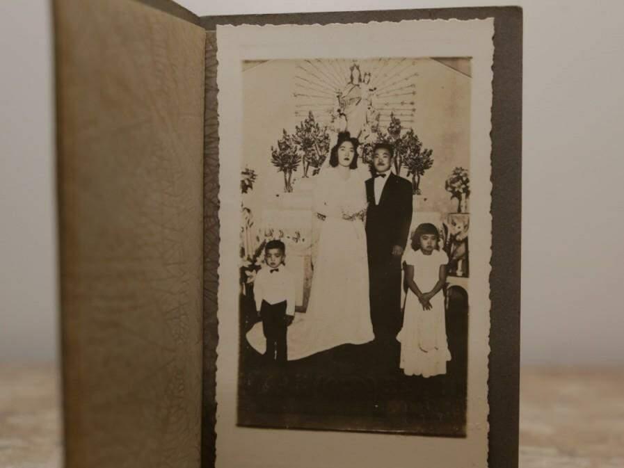 Casamento entre Hatsué e Toshio foi a moda antiga, arranjado pela família e durou 62 anos (Foto: Kísie Ainoã)