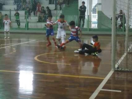 Rodada da Pelezinho teve de empate a goleada sobre estreante na competição