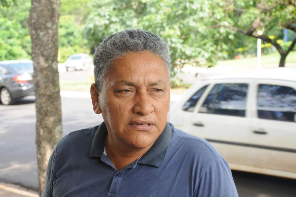 Taxista Sérgio Antônio Silva, 53 anos (Foto: Paulo Francis)