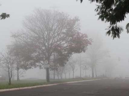 No 8º dia de frio, geada atinge 7 cidades de MS com sensação de 2°C