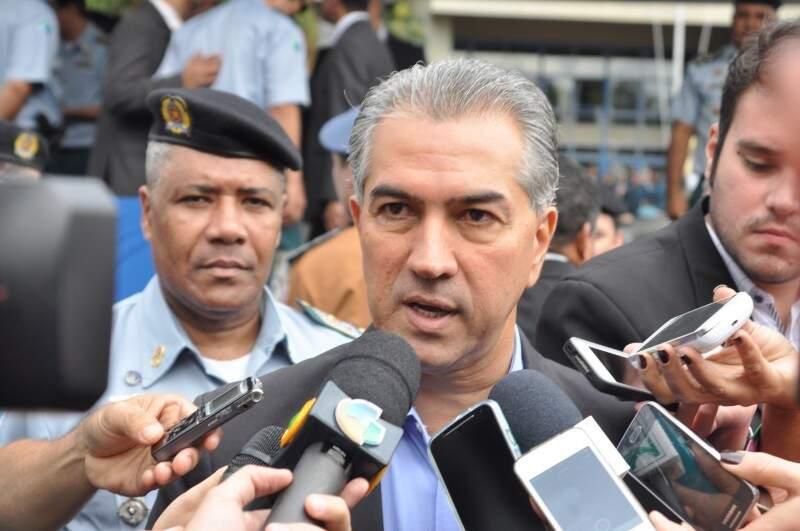 Governador do Estado, Reinaldo Azambuja (PSDB). (Foto: Arquivo)