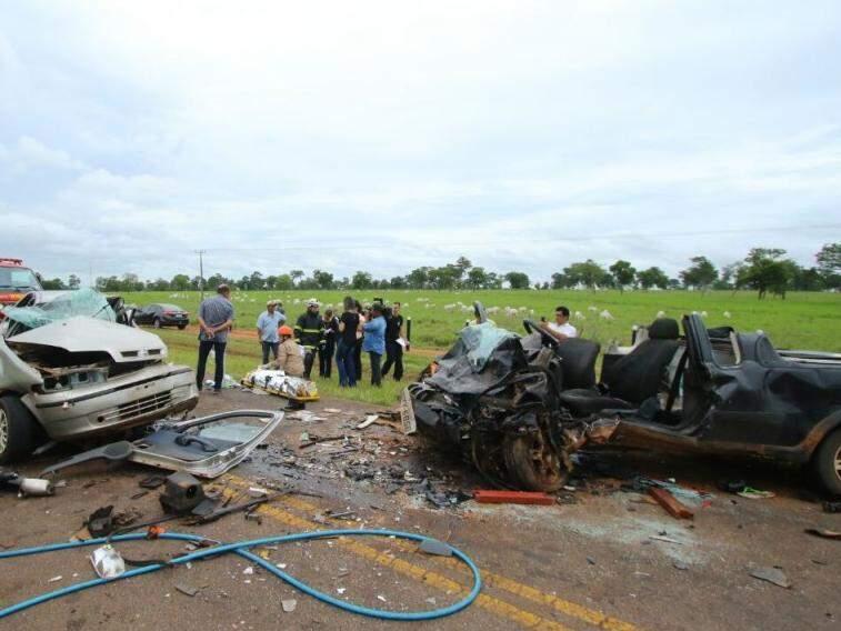 Em um único acidente, registrado no fim do ano, morreram cinco pessoas (Foto: André Bittar)
