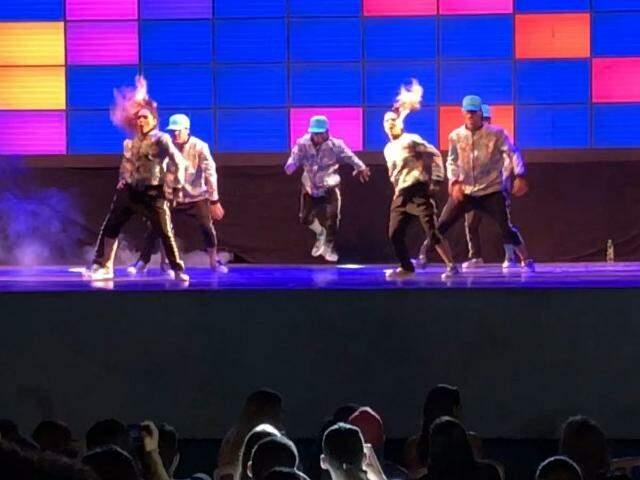 No décimo MS Street Dance, turma de Sonora se destaca com performance