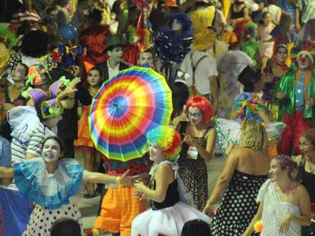 Carnaval está confirmado somente em Corumbá (Foto: Arquivo/Silvio Andrade)