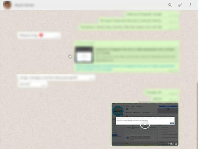 WhatsApp apresenta erro para enviar áudios, vídeos e imagens (Foto: Reprodução)