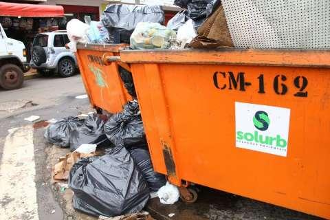TJ convoca reunião e Solurb negocia retomada da coleta de lixo por 48 horas