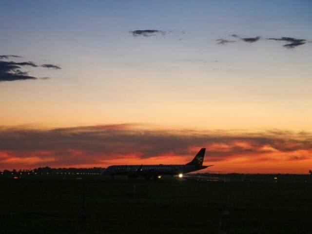 Região do Aeroporto Internacional de Campo Grande. (Foto: Paulo Francis)