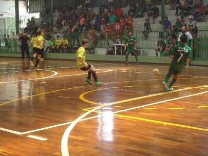 Copa Pelezinho de futsal entra hoje na reta final da primeira fase