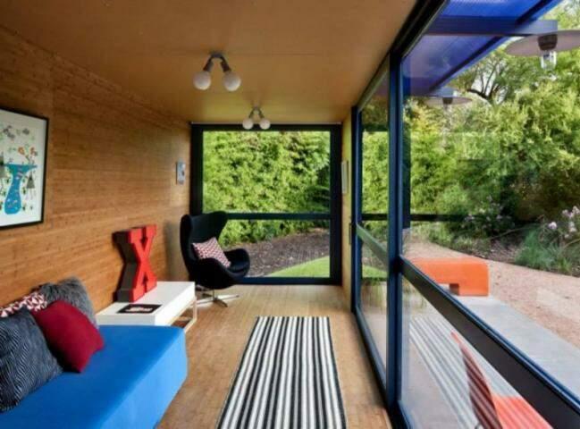 Casa por R$ 80 mil, entregue em 45 dias, usa estrutura de container
