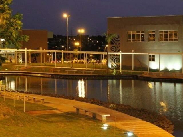 Campus da Uems em Campo Grande. (Foto: Divulgação/Arquivo)