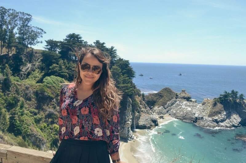Gabriela deixou Campo Grande para ir morar na Califórnia ao lado do marido, depois de cinco anos de namoro e o casamento aos 21 anos de idade. (Foto: Arquivo Pessoal)