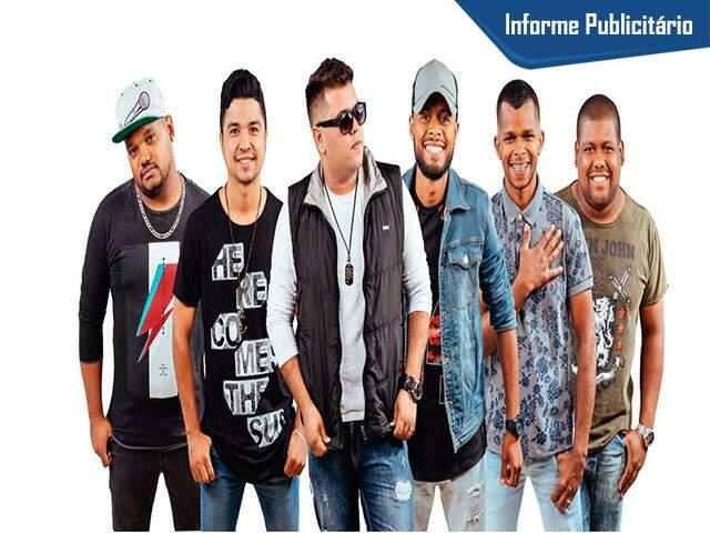 Grupo de Pagode AÊ. (Foto: Divulgação)