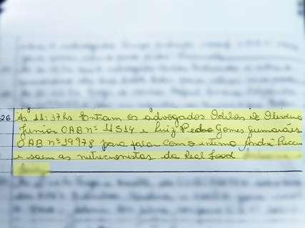Odilon Junior contradiz o pai sobre visita a André Puccinelli na cadeia