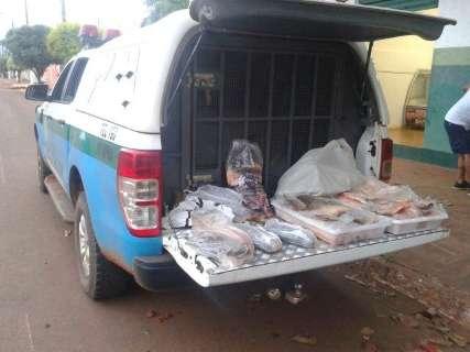 Empresário é preso com pescado ilegal no último dia da Piracema