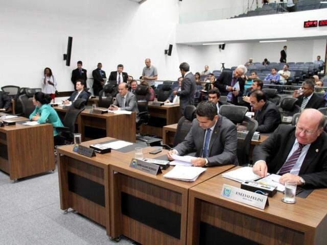 Deputados deixaram propostas polêmicas para 2019 (Foto: Victor Chileno/ALMS)