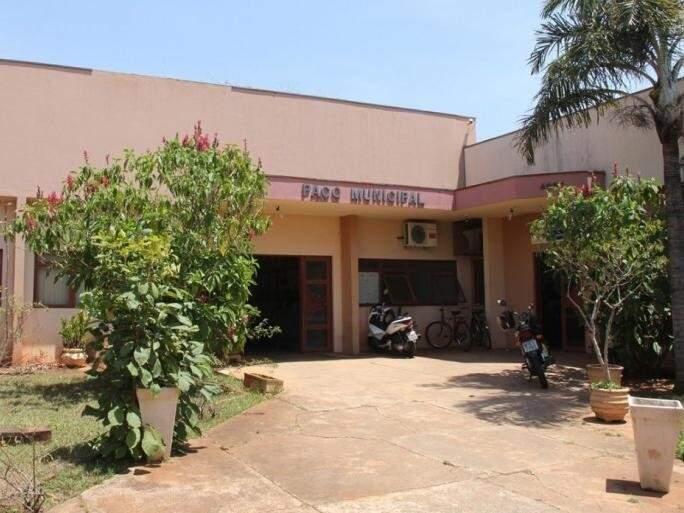 Sede da Prefeitura de Aparecida do Taboado (Foto: Prefeitura de Aparecida do Taboado/Divulgação)