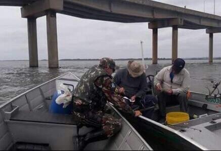 Pesca nos leitos do Paraná, Aporé e Paranaíba, serão fiscalizadas. (Foto: PMA)