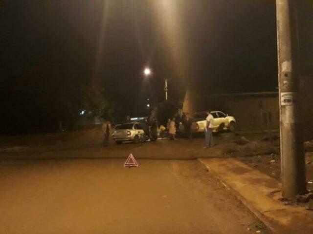 Acidente foi o quarto em menos de dois meses em cruzamento sem sinalização. (Foto: Direto das Ruas)