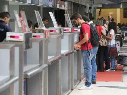 Aeroporto da Capital registra movimento de 113 mil passageiros em agosto