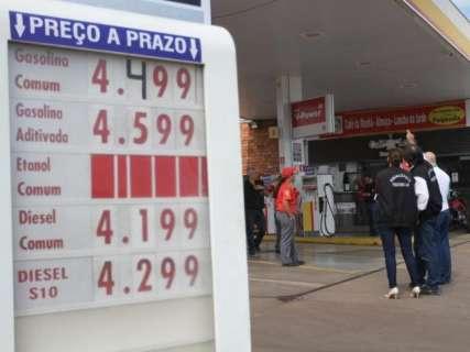 Apenas 4 postos de Campo Grande ainda têm gasolina nas bombas