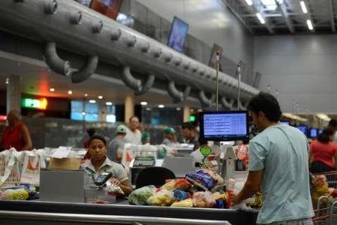 Inflação acumulada em 12 meses é de 4,08%, a menor desde julho de 2007