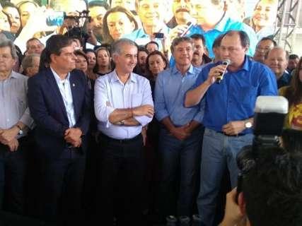 Chapa de Reinaldo registra candidatos a governo, vice, Senado e suplentes