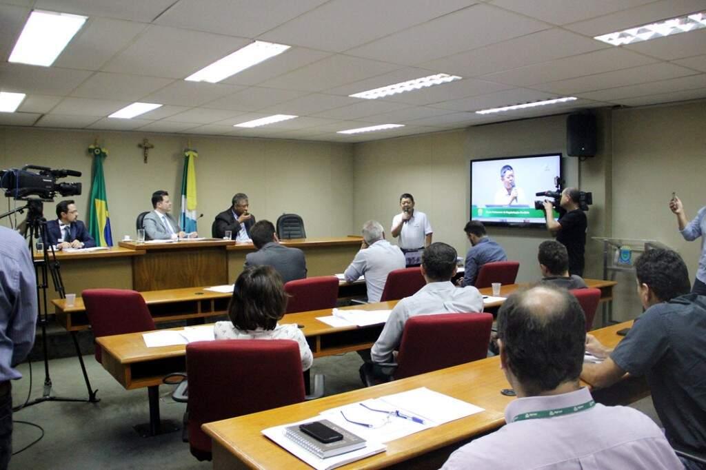 Reunião da questão fundiária vai ocorrer no plenarinho da Assembleia (Foto: Assessoria/ALMS)