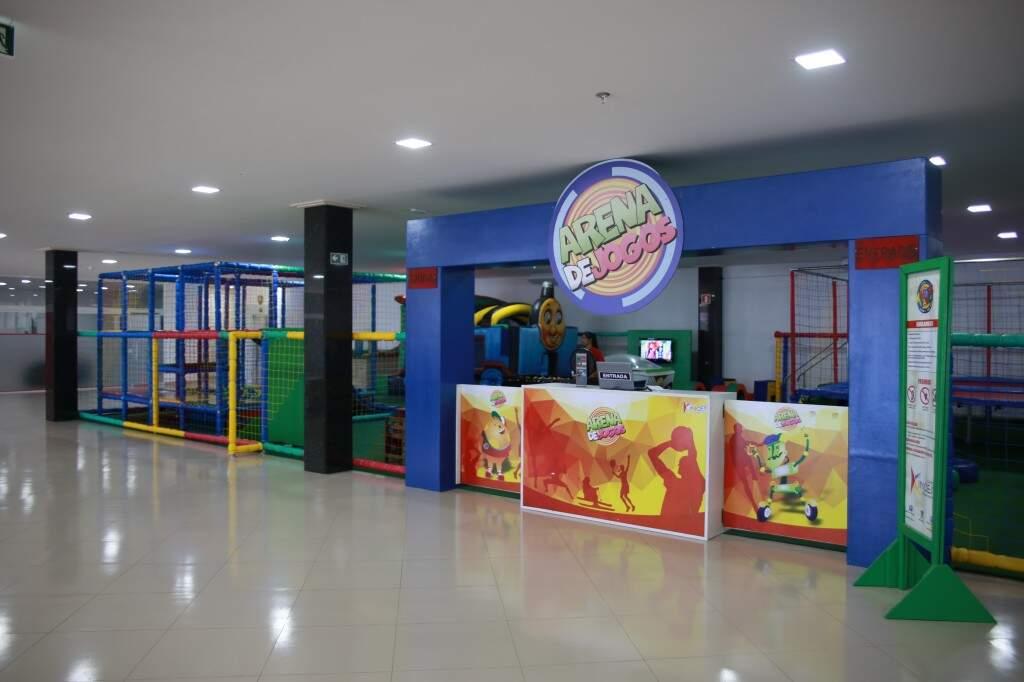 Arena de Jogos Infantil (Foto: Divulgação)