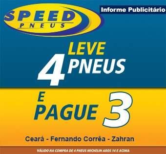 Promoção da Speed Pneus ajuda quem gastou muito no começo do ano