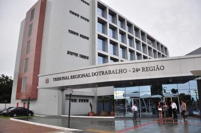 Tribunal Regional do Trabalho em Campo Grande (Foto: Arquivo/Campo Grande News)