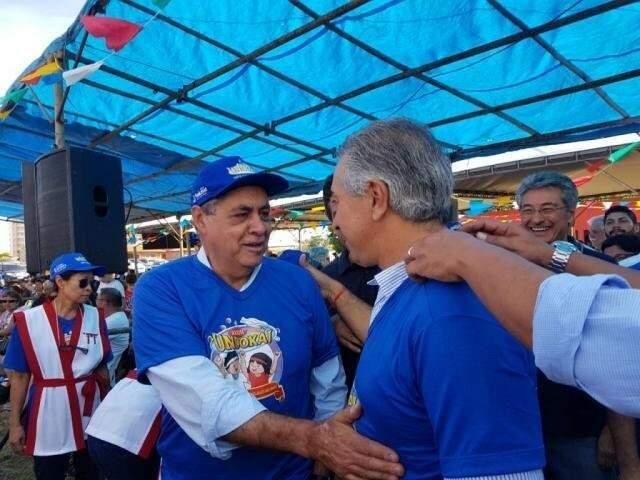 Adversários políticos confraternizam durante Undokai (Foto/Arquivo: Anahi Gurgel)