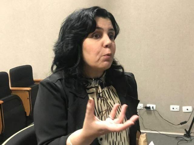 Promotora do MP-MG relembrou a experiência na apuração do 1º caso de estupro virtual tentado no estado (Foto: Ronie Cruz)