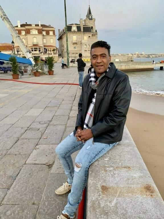 O ex-jogador Lima,esta semana matando saudade de Portugal, onde voltará a viver a partir de janeiro (Foto: Arquivo pessoal)