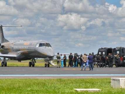 Operação transfere 14 presos do Presídio Federal de Campo Grande