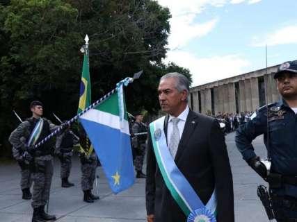 """""""É possível sonhar com tempos melhores"""", diz Reinaldo em discurso de posse"""