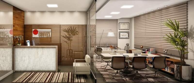 Imagem ilustrativa - opção de sala