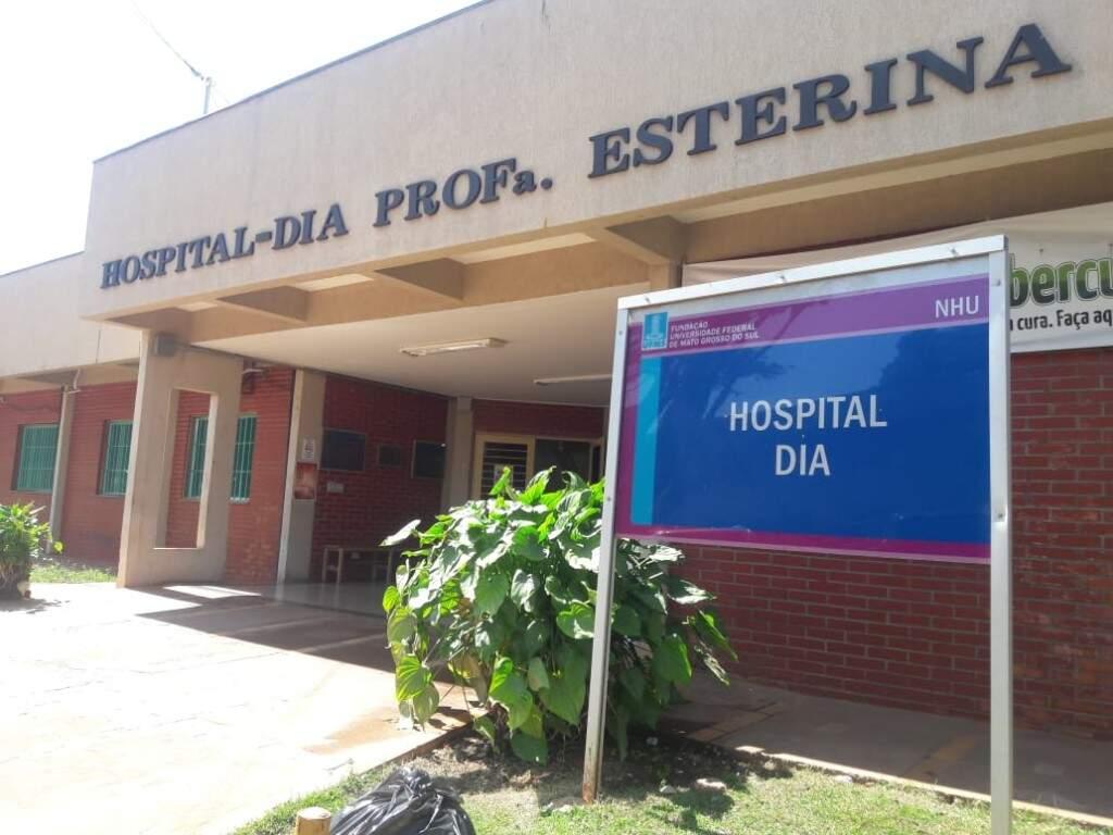 Hospital Dia, divisão do HU que oferece tratamento para pessoas com HIV (Izabela Sanchez)