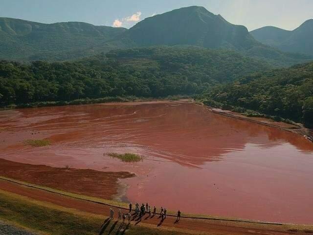 Barragens da Vetorial, como a Laís, não possuem sistema de monitoramento e alerta. (Foto: Arquivo)