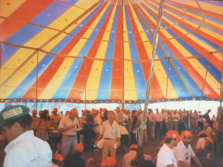 Vida política começou dentro de circo, afirma Cascão. (Foto: Arquivo Pessoal)