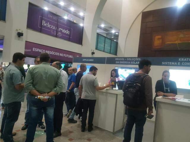 Feira espera reunir até 15 mil empreendedores e interessados em ambientes físico e virtual. (Foto: Anahi Gurgel)