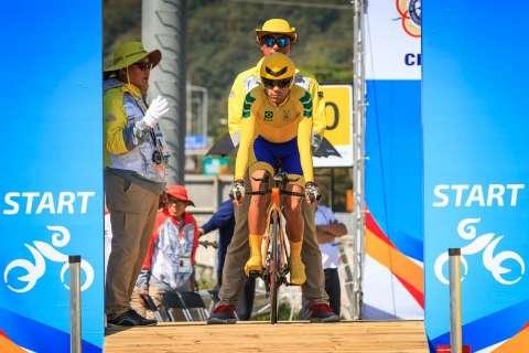 Sargento de MS ganha ouro na Coréia e bate recorde mundial de velocidade