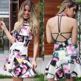 Vestido Lança Perfume - R$149,00 - Foto Divulgação