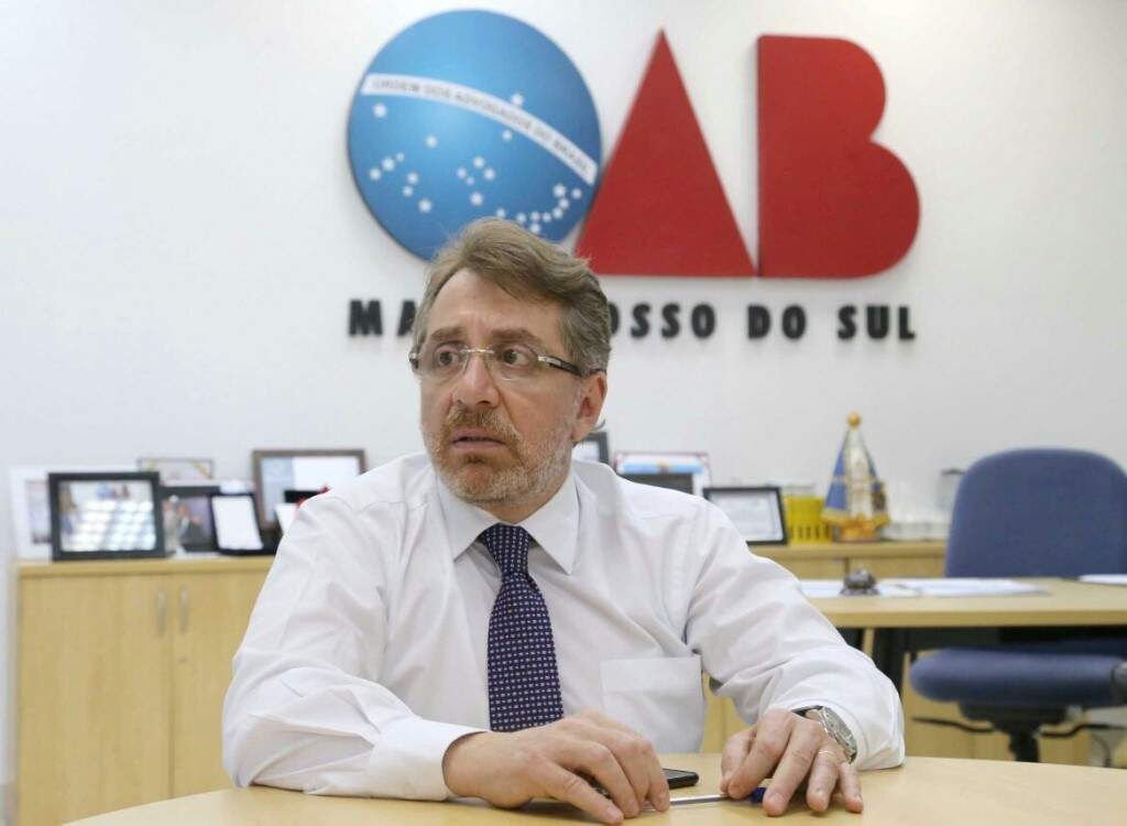 Presidente da OAB destaca obrigação de proteger as fronteiras. (Foto: Gerson Walber/OAB)