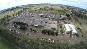 Hospital da UFGD, localizado no município de  Dourados.