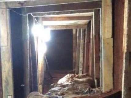 Polícia descobre túnel para resgatar líder do PCC na fronteira
